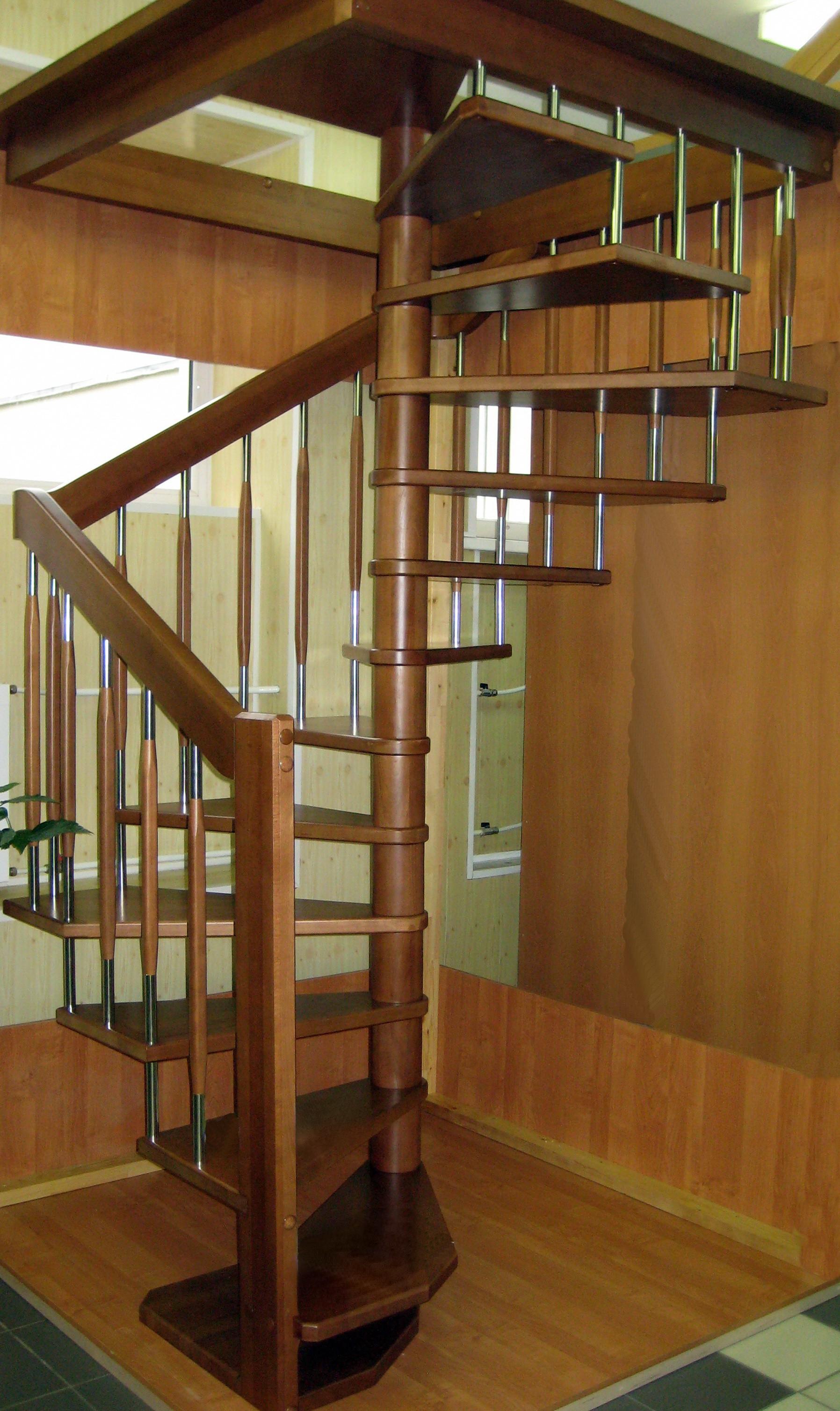 деревянные лестницы на второй