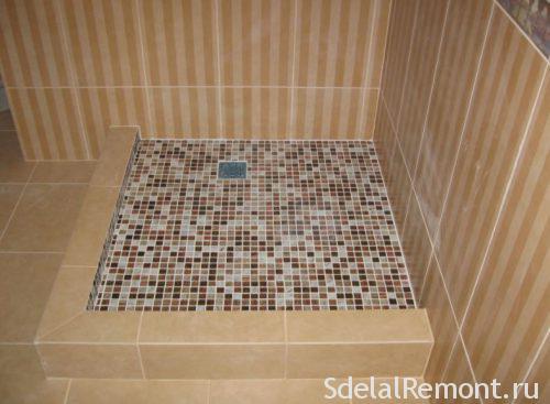 Укладка мозаичной плитки на стену на сетке своими руками: в бассейне, на пол и в ванной