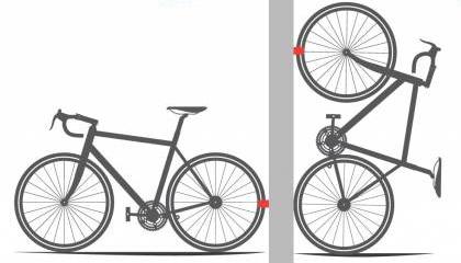 Как повесить велосипед на стену своими руками — rollerbord