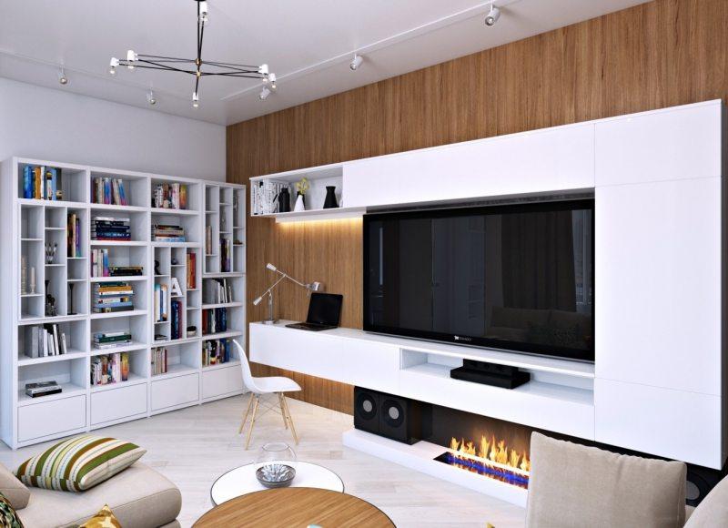 Современные стенки горки в гостиную в разных стилях – фото в интерьере