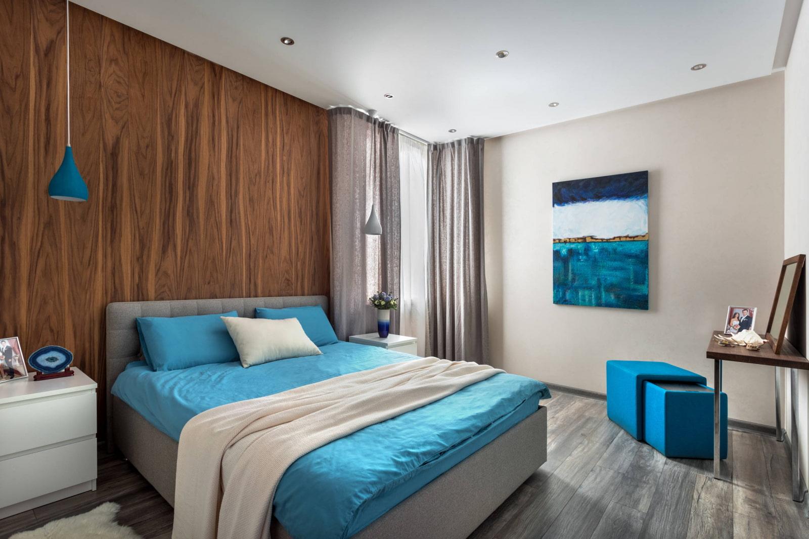 Модная покраска стен в спальне (39 фото): идеи и варианты дизайна стен 2020 в интерьере, как правильно и эффектно покрасить стены