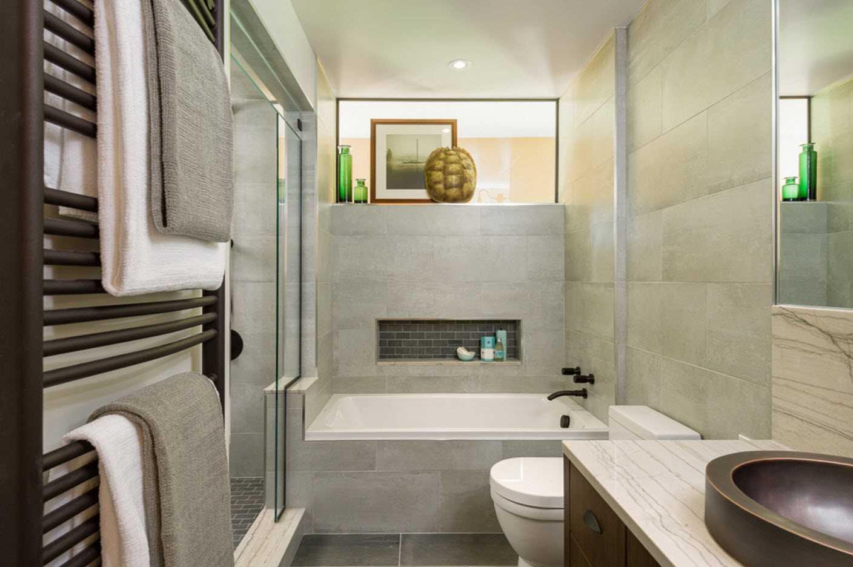 ванна в доме