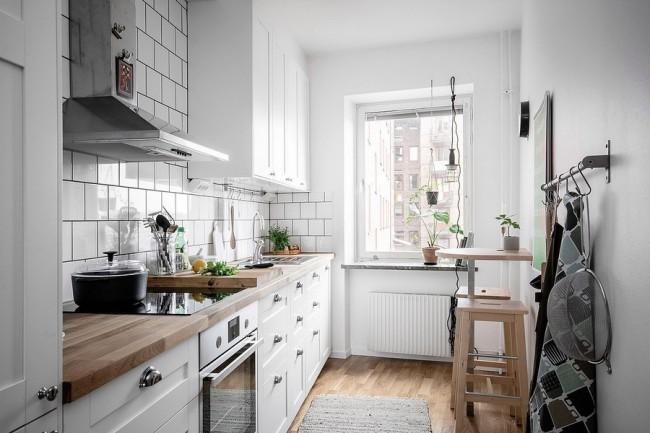 100 лучших идей: современные обои 2019 для кухни на фото