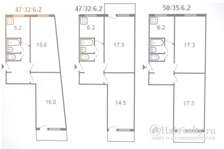 Перепланировки брежневки: 1, 2, 3 комнатные квартиры, описание и типовые варианты, фото улучшенных условий