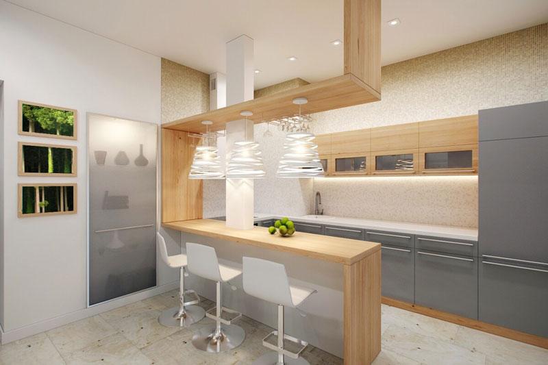 Кухонные столы для маленькой кухни, плюсы и минусы