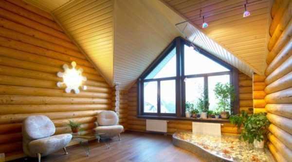 Отделка дома блок-хаусом: классификация материала и способ его монтажа