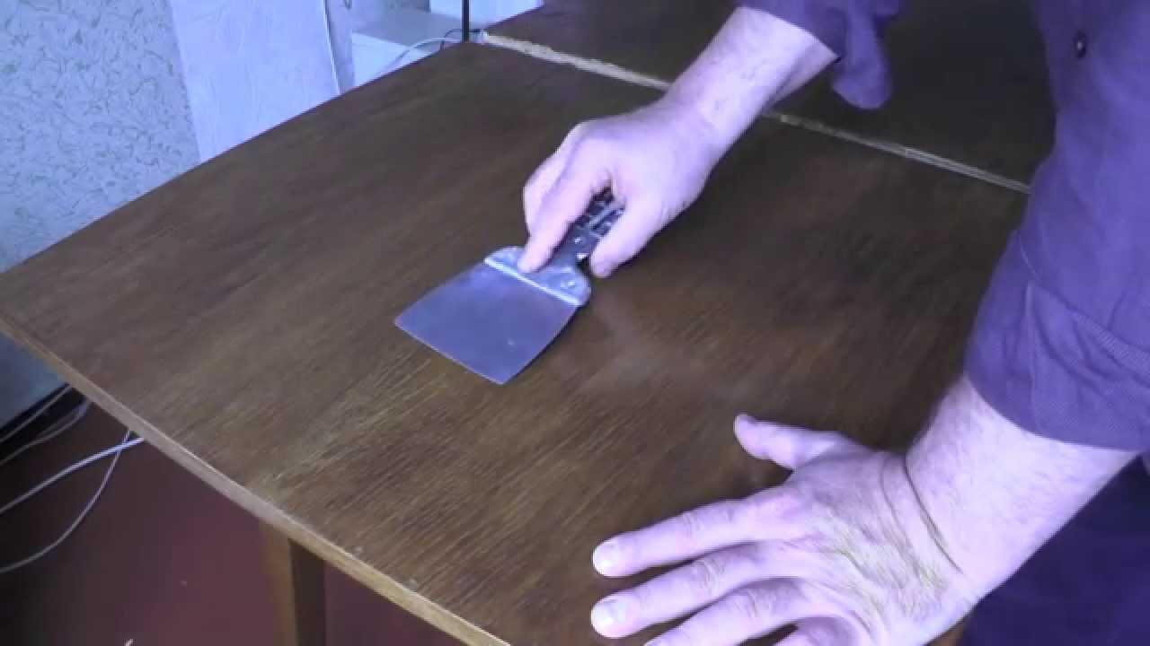 Как снять лак с деревянной поверхности в домашних условиях? (видео)