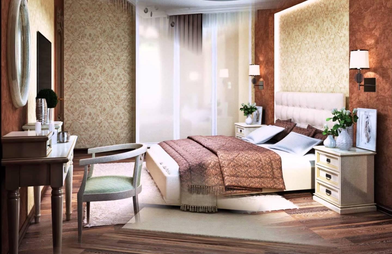7 дизайнерских идей: интерьер с коричневыми обоями