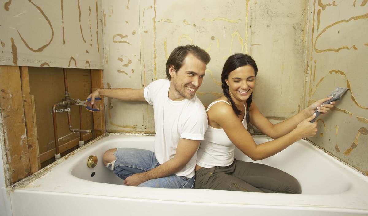 Штукатурка под плитку в ванной: виды, какая штукатурная смесь лучше