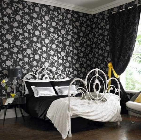 дизайн с черным цветом