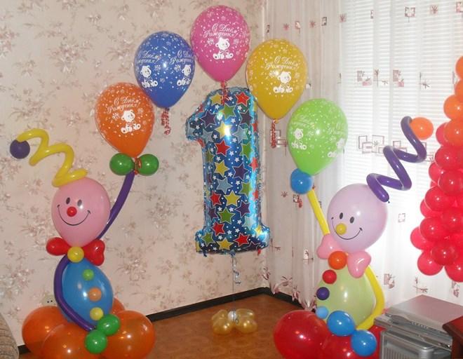 декор на день рождения