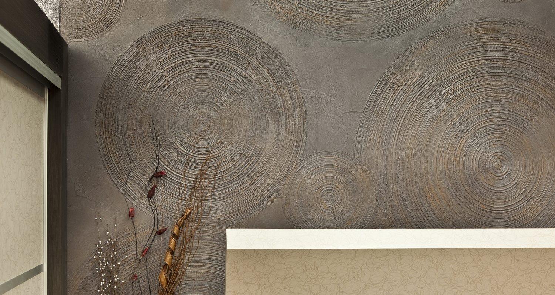 Декоративная штукатурка своими руками из обычной шпаклевки: версальская, короед