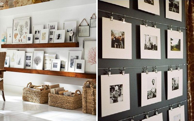 Рамки для фотографий на стену: коллажи, картины и 80 лучших идей