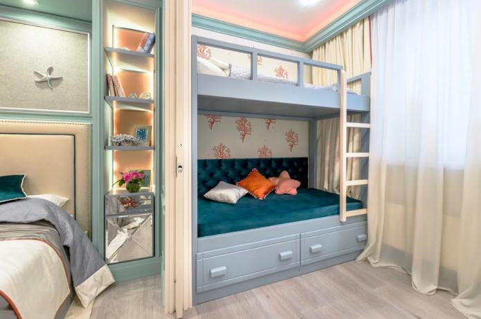 Как совместить детскую и гостиную в одной комнате
