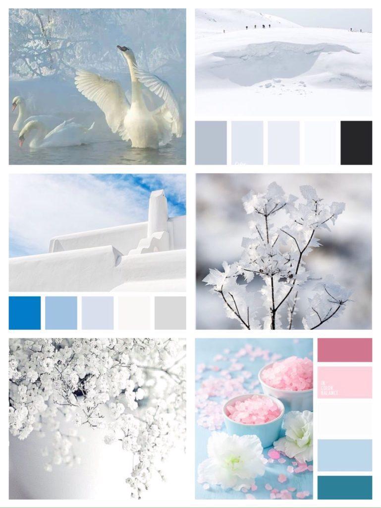 цвета сочетающиеся с белым