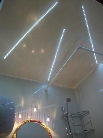 Все о потолочных плинтусах с подсветкой