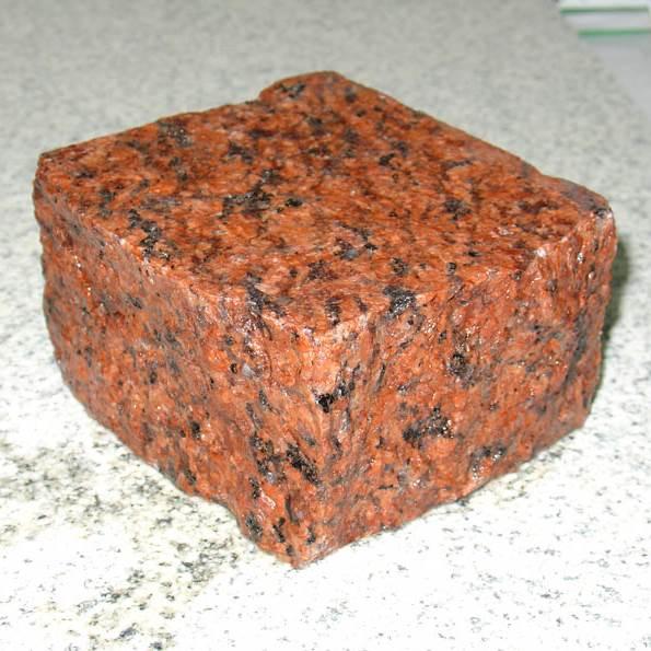 камень гранит описание