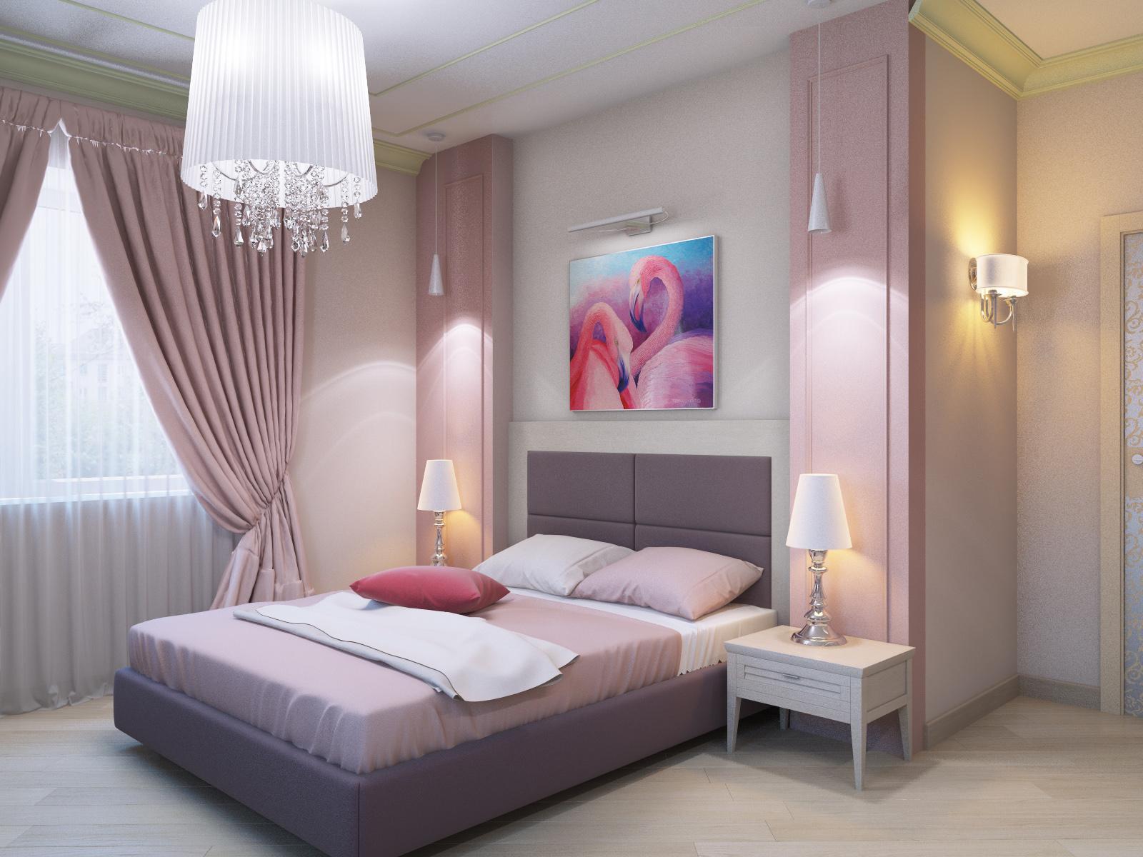 Розовые обои для стен в интерьере: рекомендации, с чем сочетать