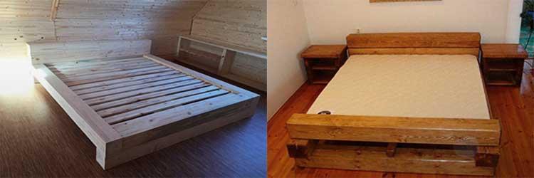 Совет от столяра— делаем роскошную кровать из дерева
