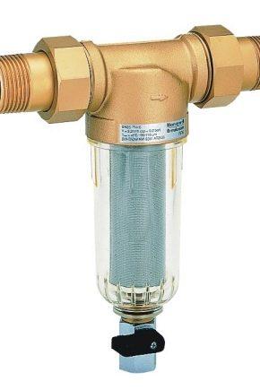Как подобрать фильтры грубой очистки воды для квартиры