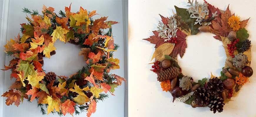 осень в интерьере