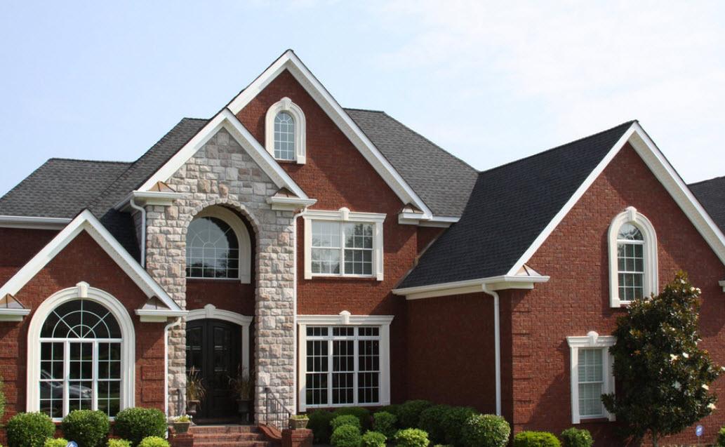 Крыша дома серого цвета: 100+ фото | загородные дома