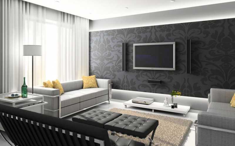 Черно-белая спальня (76 фото): дизайн интерьера комнаты в черных и белых тонах для подростка с яркими акцентами, стили