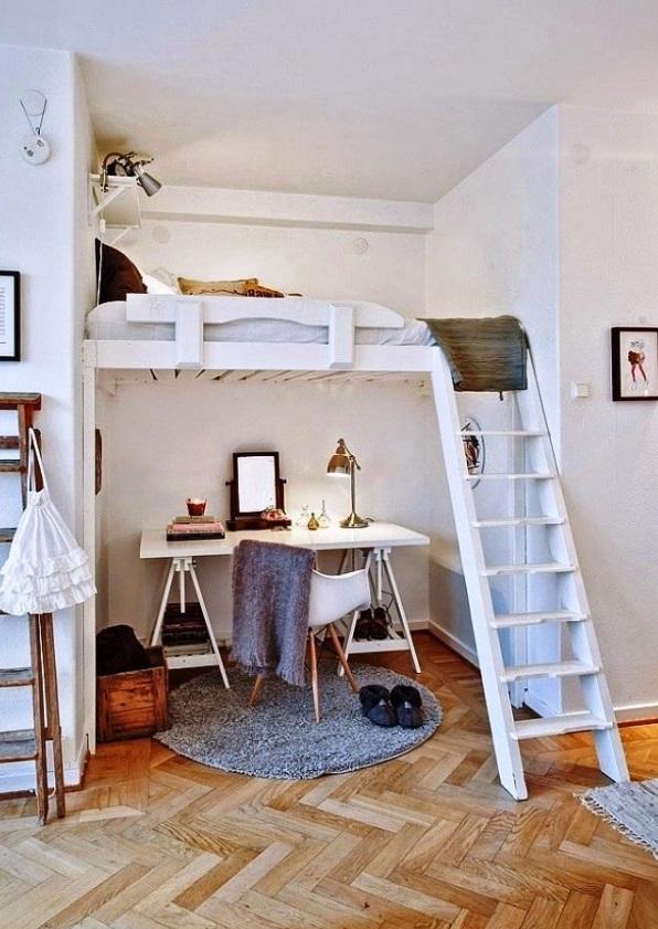 как обустроить однокомнатную квартиру со спальным местом