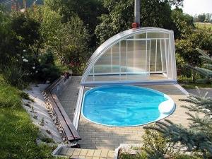 Площадка под каркасный или надувной бассейн на даче: делаем самостоятельно