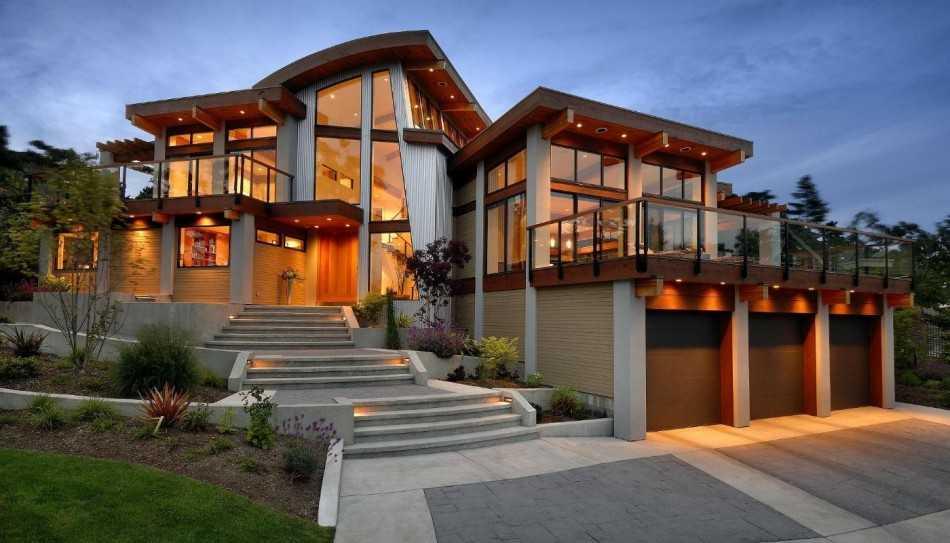 отделка фасада дома варианты