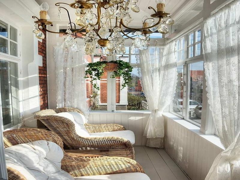 Шторы на липучке для балкона и не только