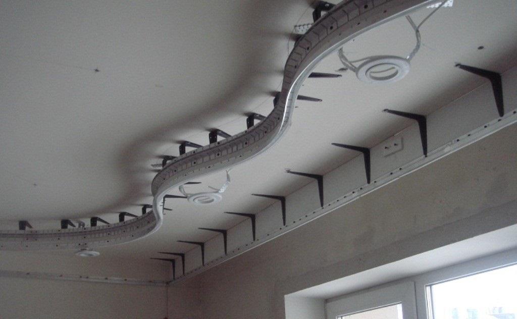 Установка натяжных потолков своими руками