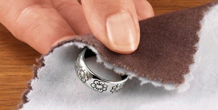 как отмыть серебро