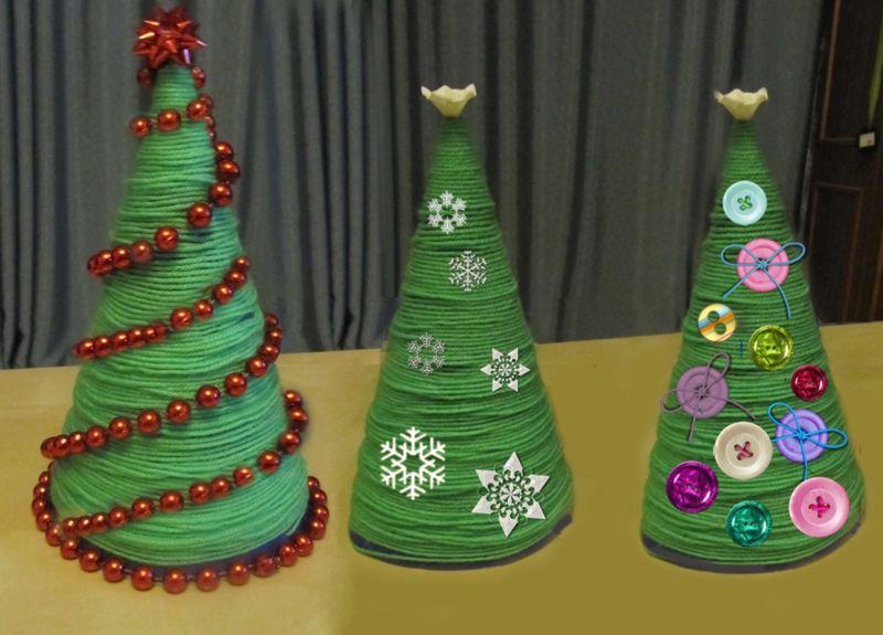 45 новогодних елок своими руками – фото, мастер классы
