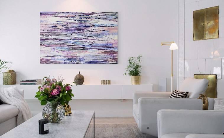 Картины для гостиной - современные актуальные варианты идеального применения картин (135 фото)