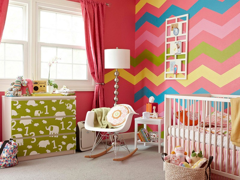 Обои для детской комнаты для девочек: лучшие варианты дизайна