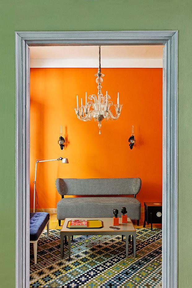 Оранжевая кухня: фото реальных интерьеров, практические советы