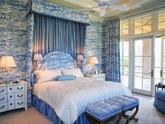 Стильные синие шторы в интерьере: 3 удачных сочетания