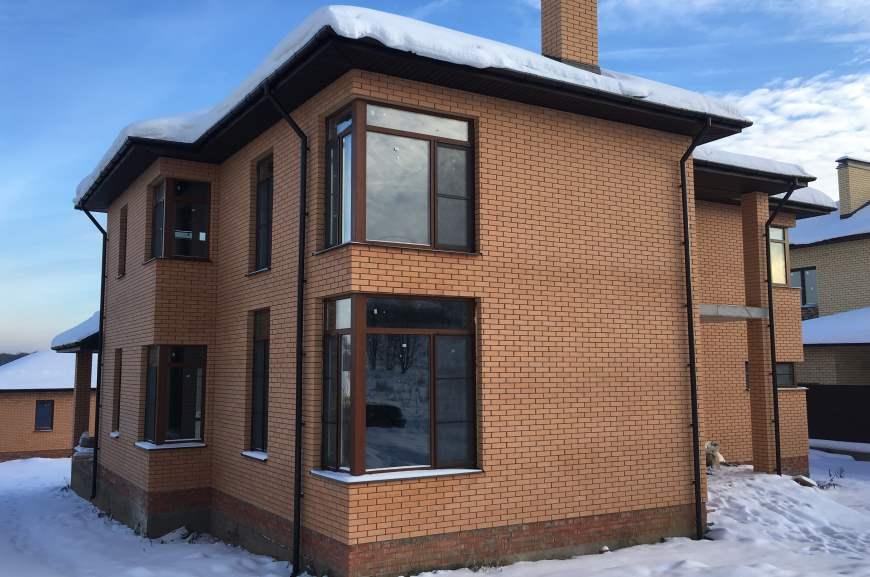 план двухэтажного дома с размерами