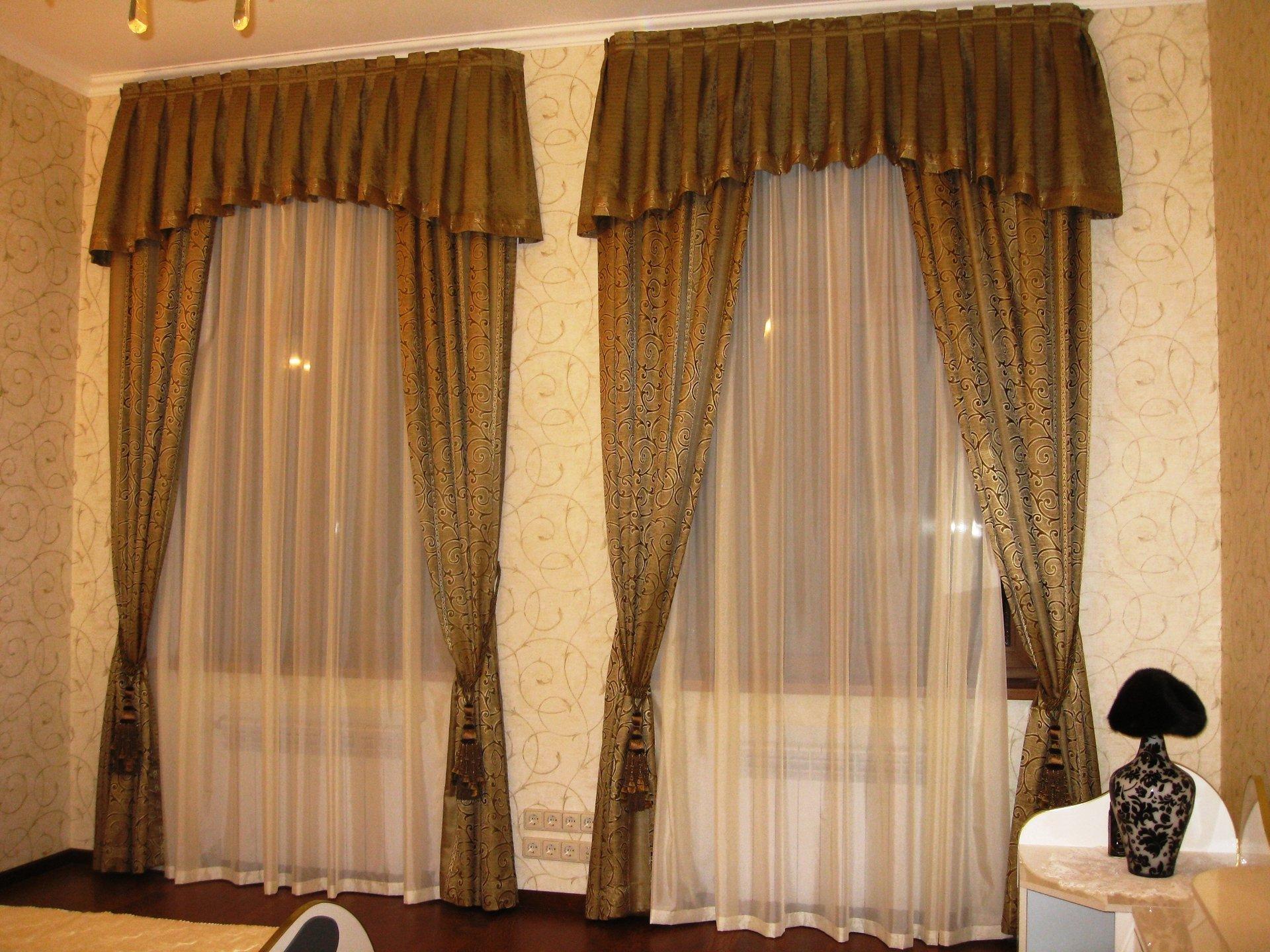Как правильно рассчитать размеры и ширину штор на окно?
