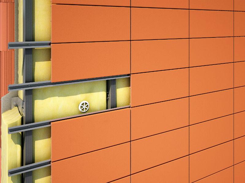 Монтаж вентилируемого фасада из керамогранита - цена за м2, расчет стоимости | стройфасад москва