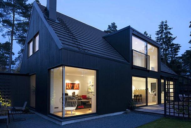 Загородный дом в скандинавском стиле - 75 фото, идеи проектов
