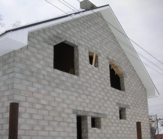 Стоимость кладки стен из газобетона за куб