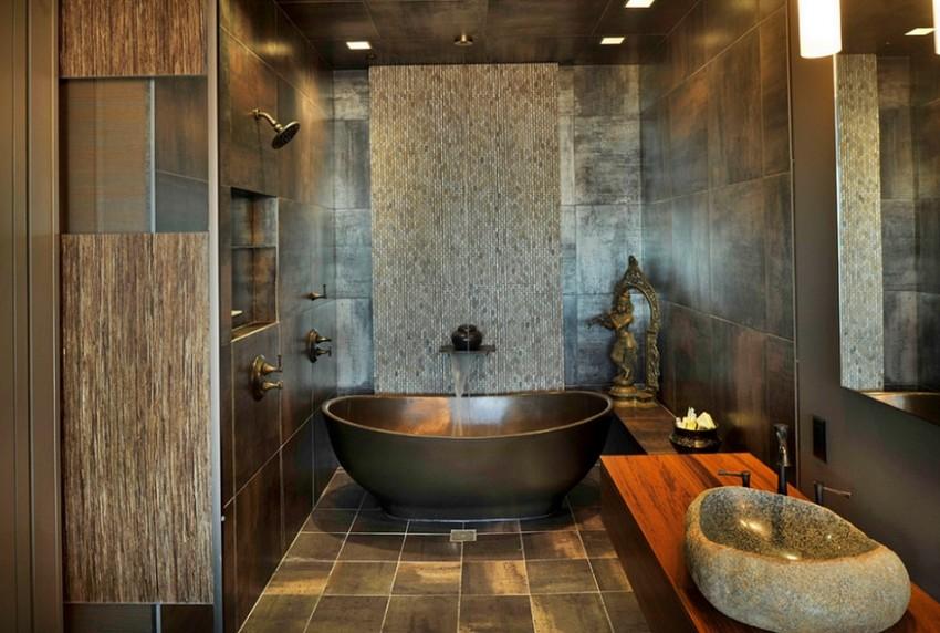 Синяя ванная: красивый дизайн, правила оформления и оптимальный подбор цветов и оттенков