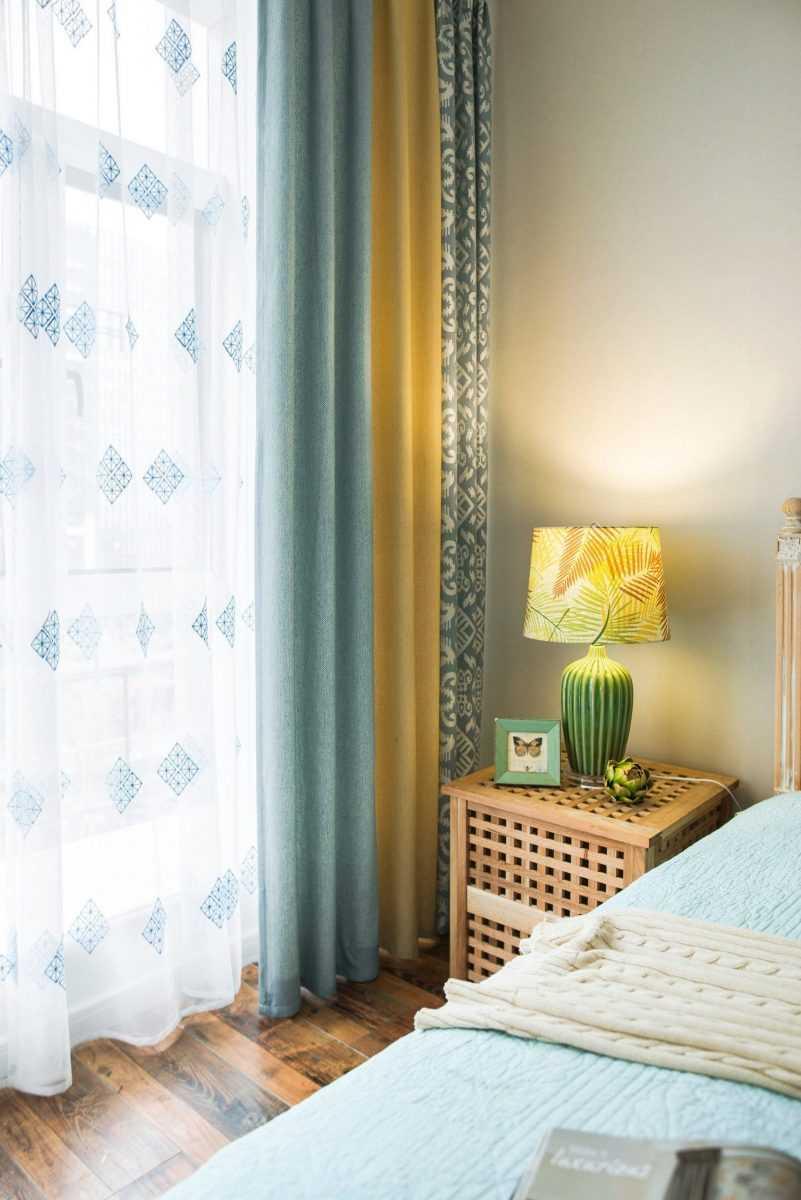 оливковые шторы в гостиную