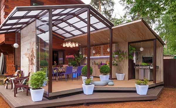 Садовые беседки (81 фото): металлическая конструкция на участке,  размеры сборного изделия на огороде, виды, застекленные варианты беседок
