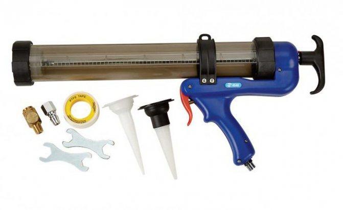 Топ 7 лучших пистолетов для герметика: закрытые, аккумуляторные, пневматические, как пользоваться