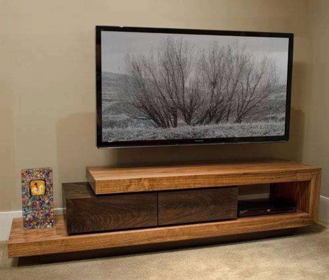 тумбочки под телевизор в современном стиле