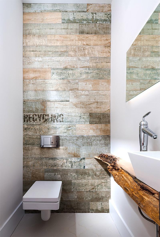 отделка стен в туалете варианты