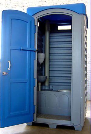 туалет уличный пластиковая кабина